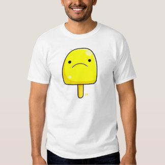 Camisa del estallido del limón