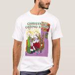 Camisa del estilo del casino del navidad
