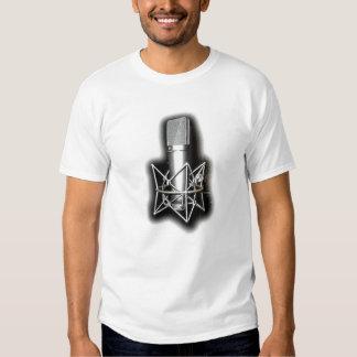 Camisa del estilo libre del micrófono