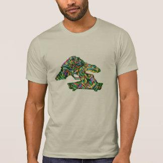 Camisa del extracto de la silueta de la forma de l