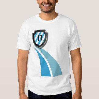 Camisa del fanático del fútbol del fútbol
