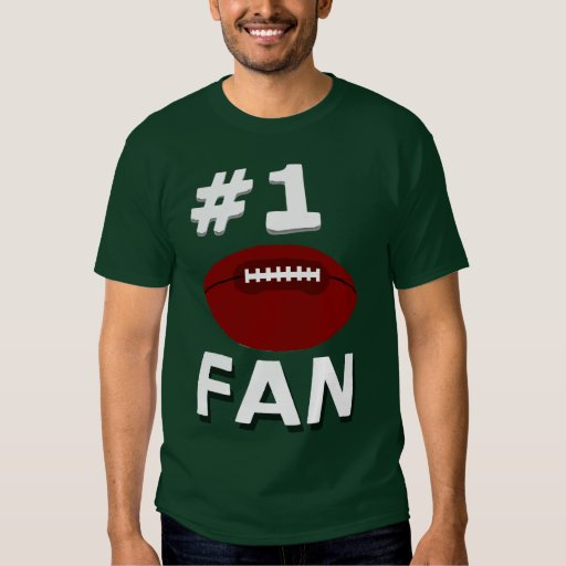 Camisa del fanático del fútbol del número 1