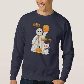 Camisa del fantasma y del gatito de Ghosty