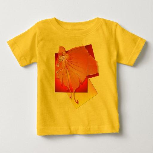 Camisa del fondo de señora Butterfly de Sun