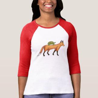Camisa del Fox y de la tortuga