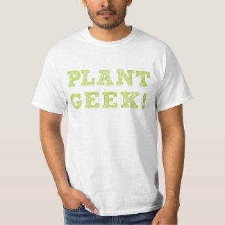 Camisa del friki de la planta