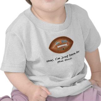 Camisa del fútbol de la diversión del niño