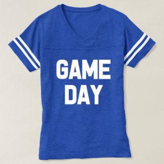 Camisa del fútbol de las mujeres divertidas del