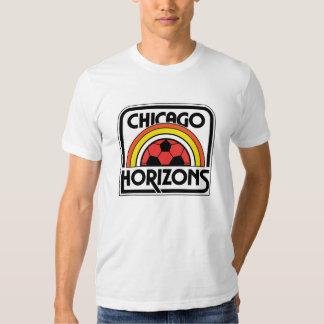Camisa del fútbol de los horizontes de Chicago