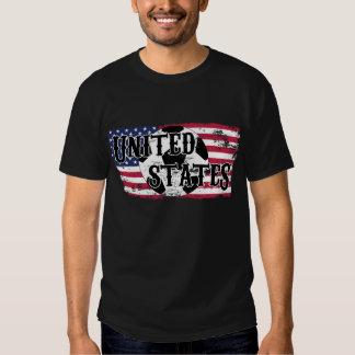 Camisa del fútbol - Estados Unidos