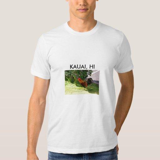Camisa del gallo de Kauai