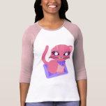 Camisa del gatito del gatito de Rosie Toon del