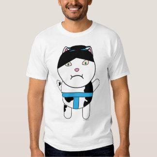 Camisa del gatito del sumo