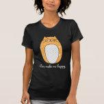 """Camisa del """"gato anaranjado"""""""