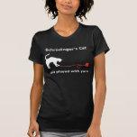 """Camisa del gato de Schrödinger"" (oscura)"