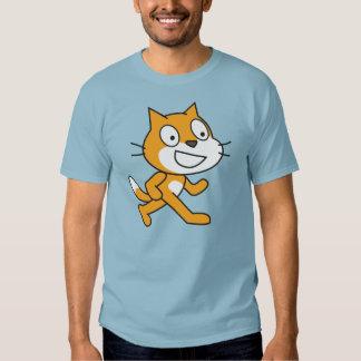 Camisa del gato del rasguño (para hombre)