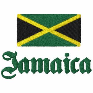 Camisa del golf de Jamaica Camiseta Polo Bordada