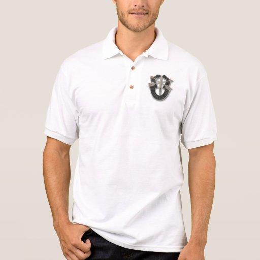 camisa del golf de las fuerzas especiales