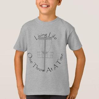 Camisa del golf del disco de los niños