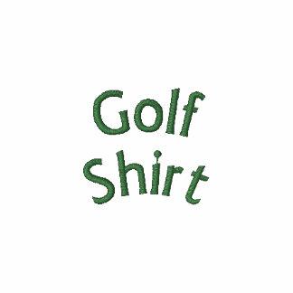 Camisa del golf sin logotipo camiseta polo