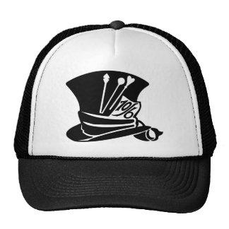 Camisa del gorra del sombrerero enojado