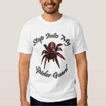 Camisa del guardia de la araña roja