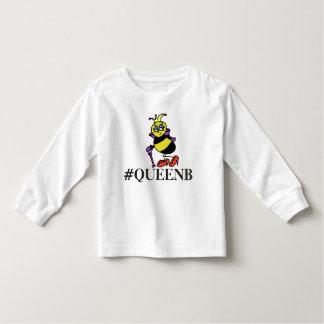 Camisa del hashtag de la abeja reina del niño