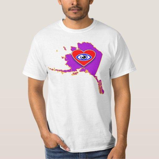 Camisa del heartmap de AK