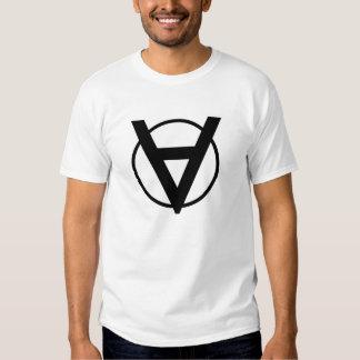 Camisa del héroe de Voluntaryist con símbolo