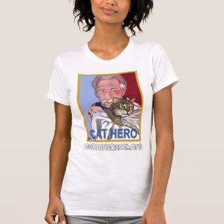 """""""Camisa del héroe del gato"""" Playeras"""