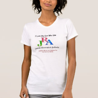 camisa del hijo de la mamá JRA