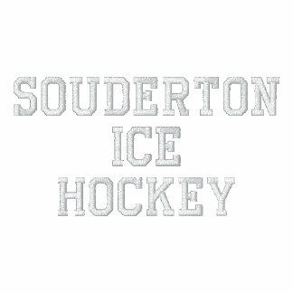 - Camisa del hockey de Souderton - manga larga par