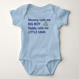 Camisa del hombre del bebé