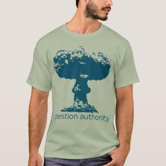 Camisa del hongo atómico de la autoridad de la