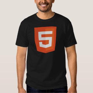 Camisa del HTML 5