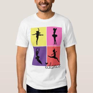 camisa del idance de los bailarines