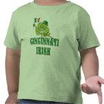 Camisa del irlandés de Cincinnati