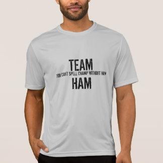 Camisa del jamón del equipo