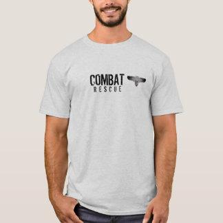 Camisa del jefe de equipo de rescate del combate