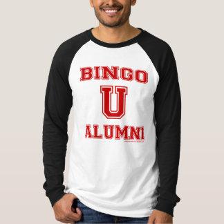 Camisa del jersey de los alumnos del bingo U