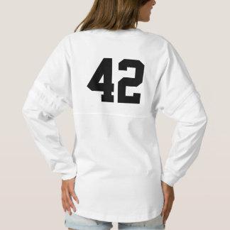 Camisa del jersey del alcohol del número 42