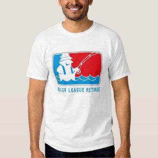 Camisa del jubilado de la primera división