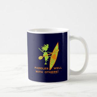 ¡Camisa del kajak, regalo del kajak, pegatina para Taza De Café