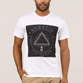 Camisa del kanji del triángulo del jitsu de Jiu