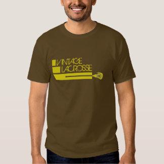 camisa del lacrosse del vintage