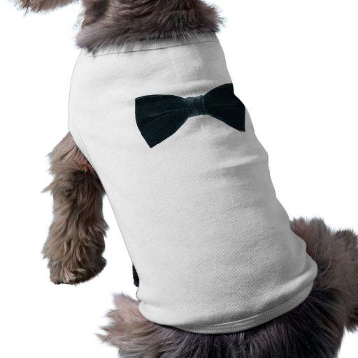 camisa del lazo-perro del arco playera sin mangas para perro