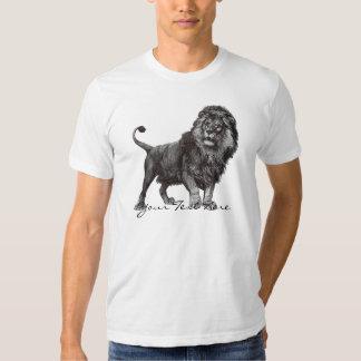 Camisa del león del vintage