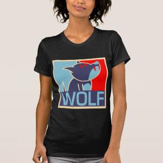 Camisa del lobo del arte pop