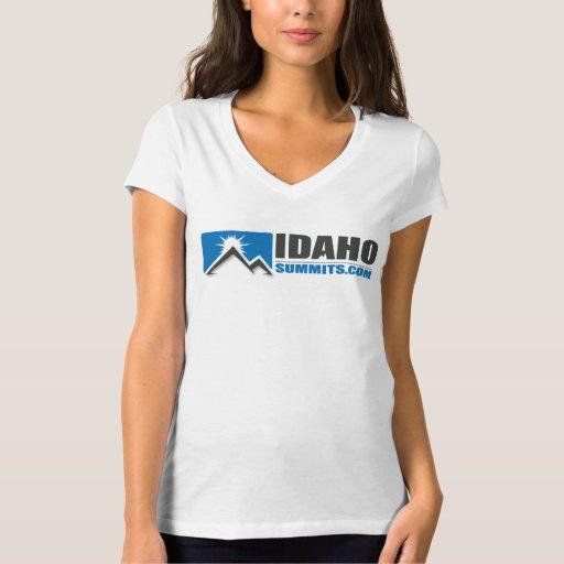 Camisa del logotipo de Idahosummits.com de las