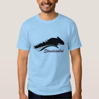 Camisa del logotipo de Standardbred